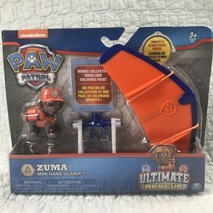 NEW Paw Patrol Zuma Mini Hang Glider
